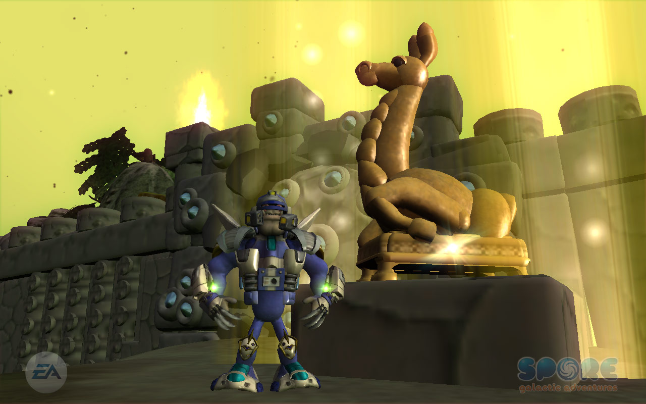SPORE Galactic Adventures screenshot