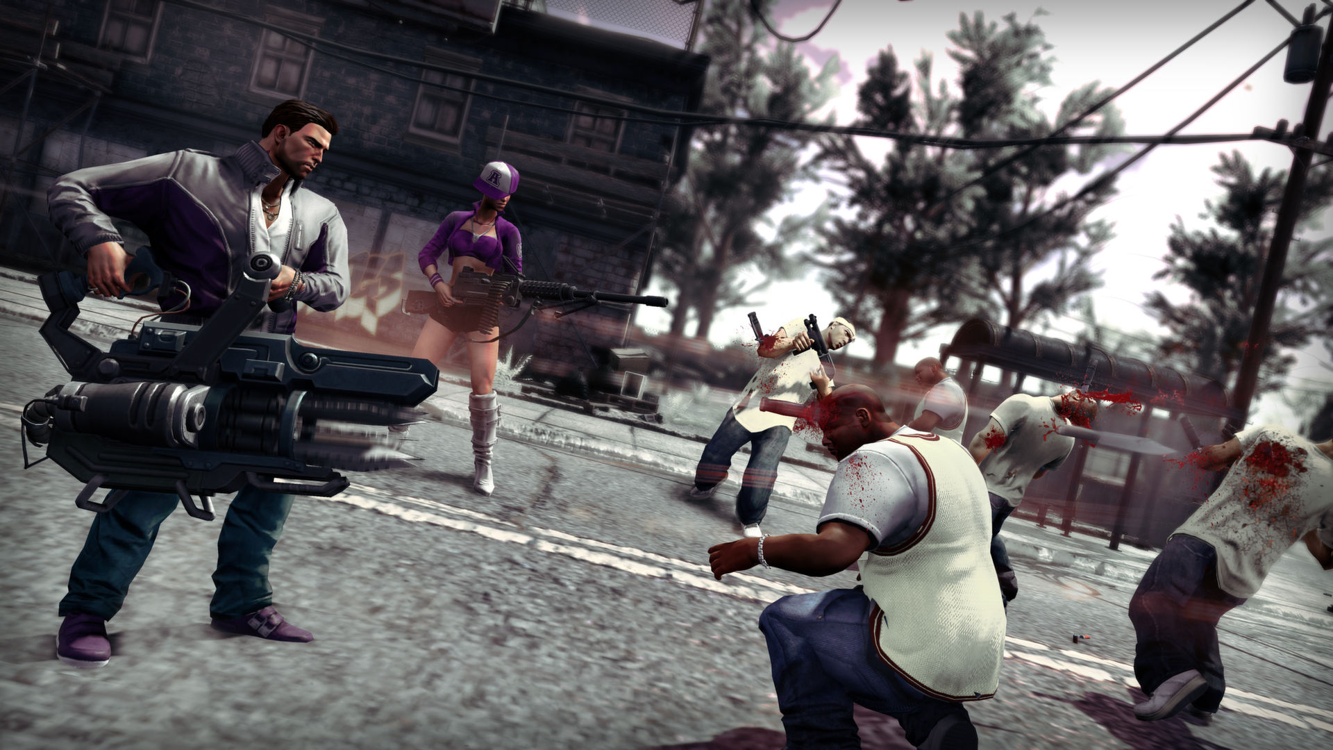 how to play saints row 2 coop with evolve