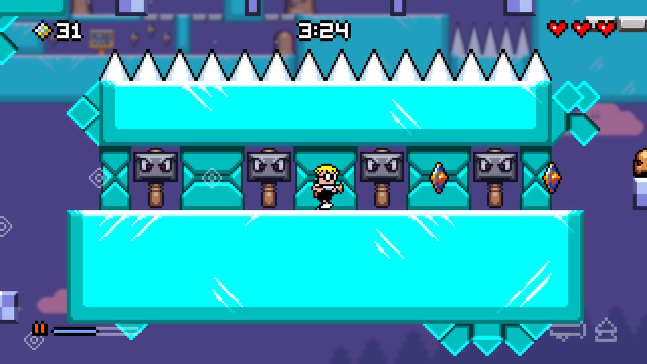 Mutant Mudds Deluxe screenshot