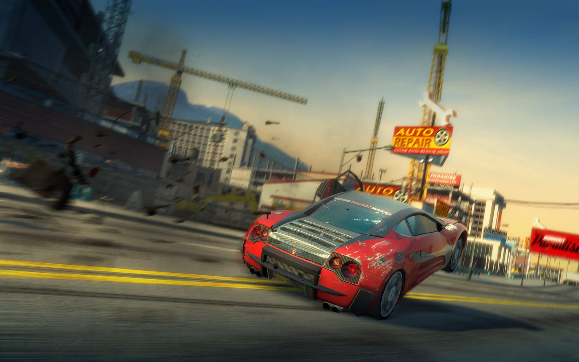 Burnout Paradise: The Ultimate Box screenshot