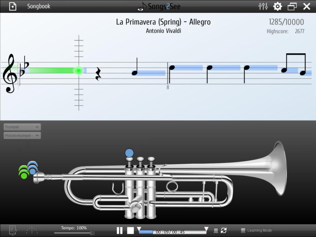 Songs2See screenshot