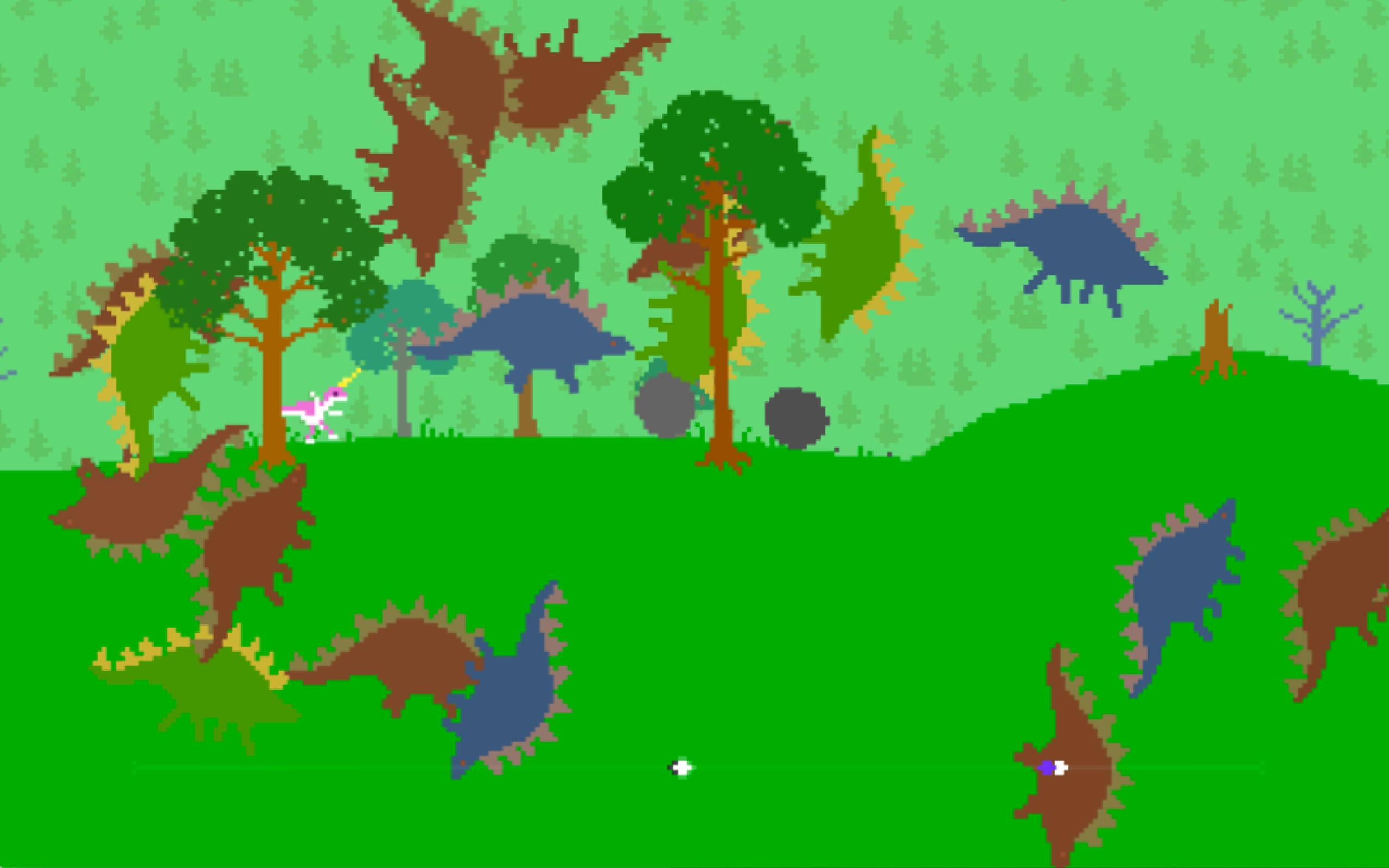 Dino Run DX screenshot