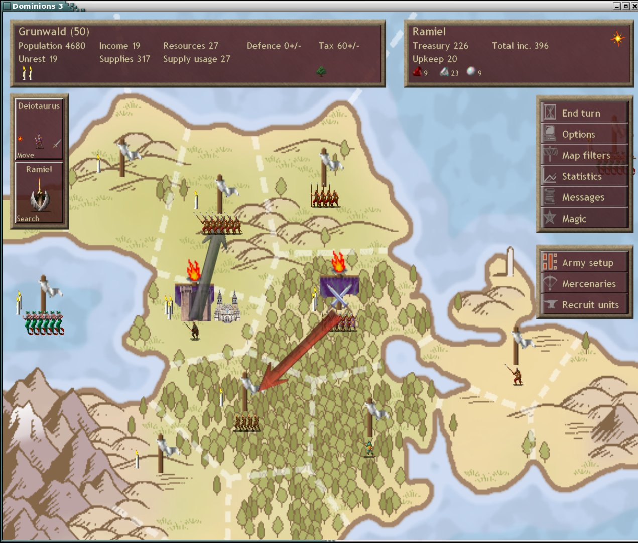 Dominions 3: The Awakening screenshot