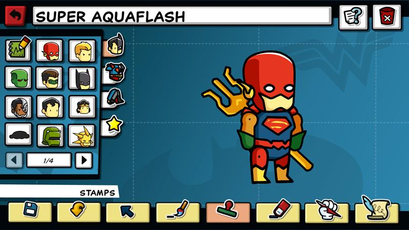 Scribblenauts Unmasked: A DC Comics Adventure screenshot