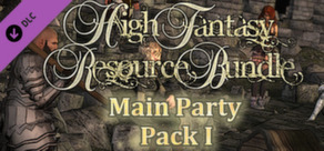 RPG Maker: High Fantasy Main Party Pack 1