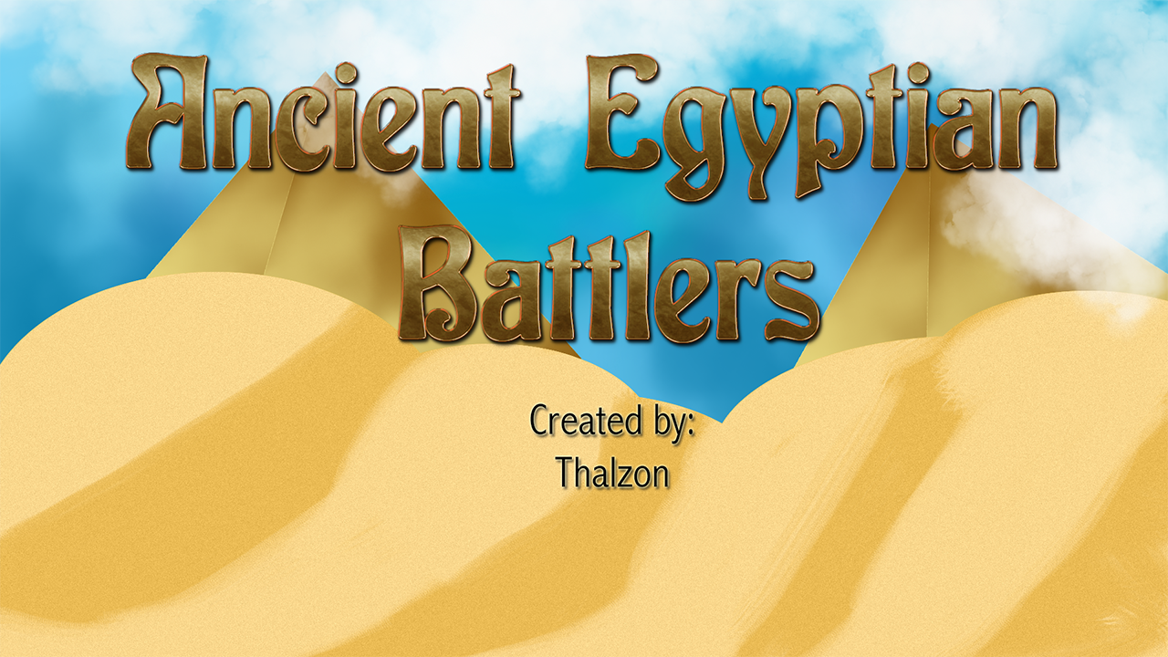 RPG Maker VX Ace - Egyptian Myth Battlers screenshot