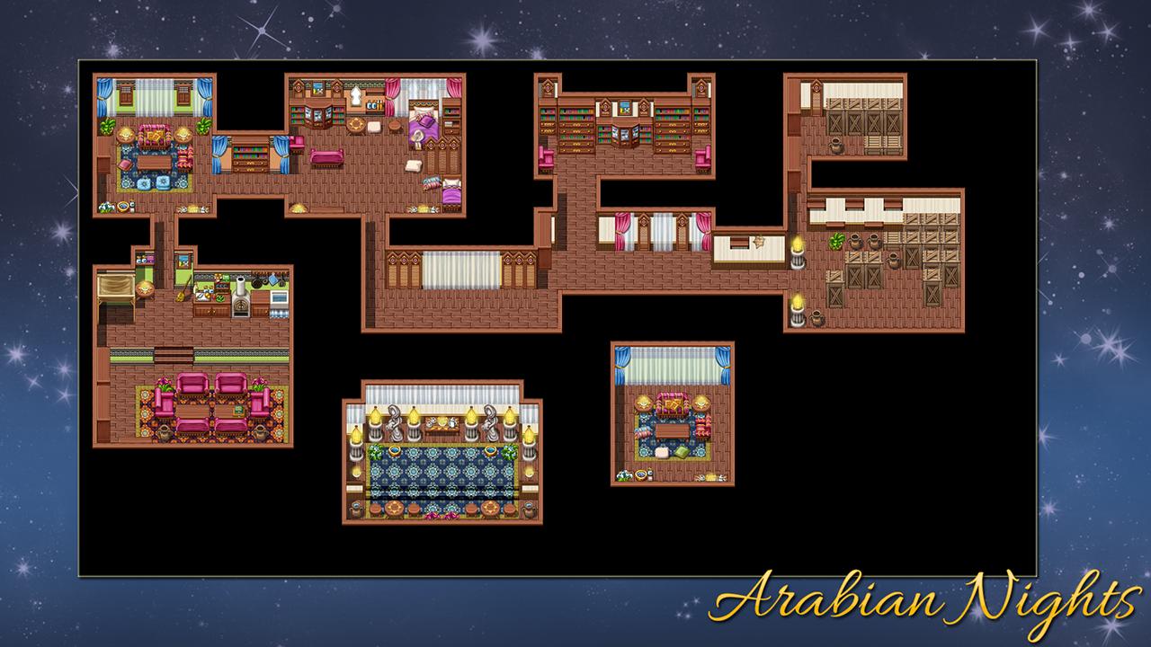 RPG Maker VX Ace - Arabian Nights screenshot