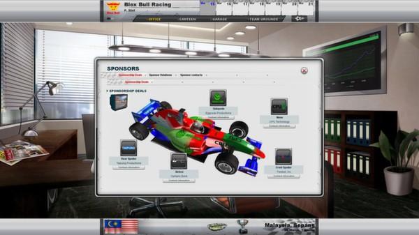 скриншот Racing Manager 2014 2
