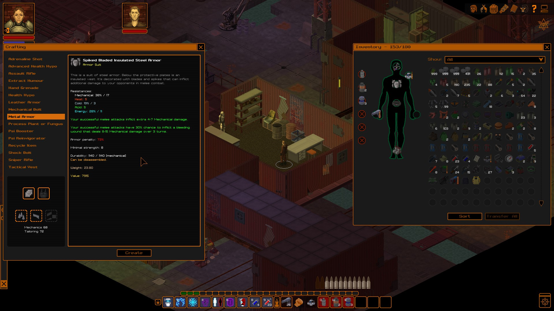 UnderRail screenshot 2