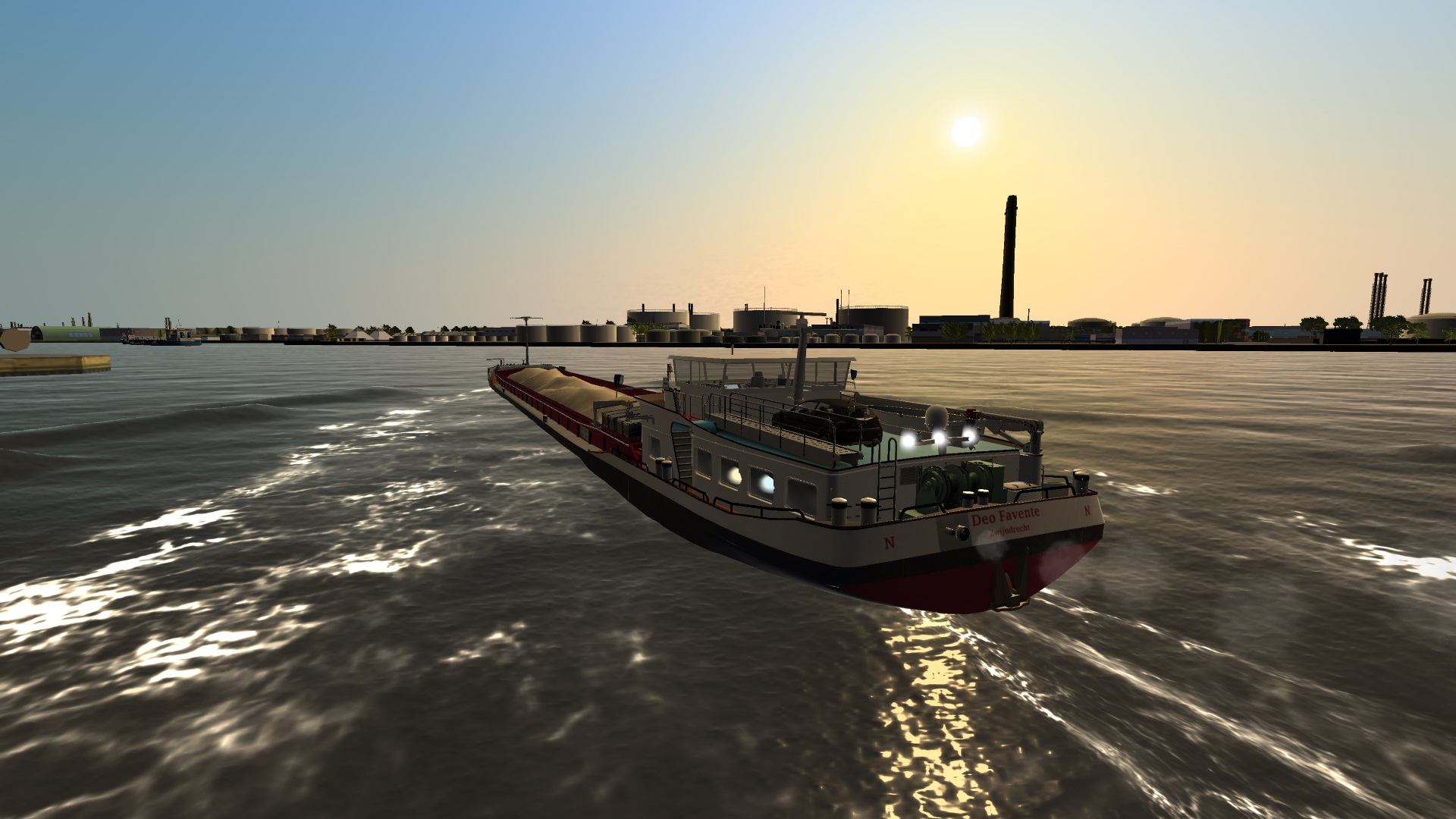 Ship Simulator Extremes: Inland Shipping screenshot