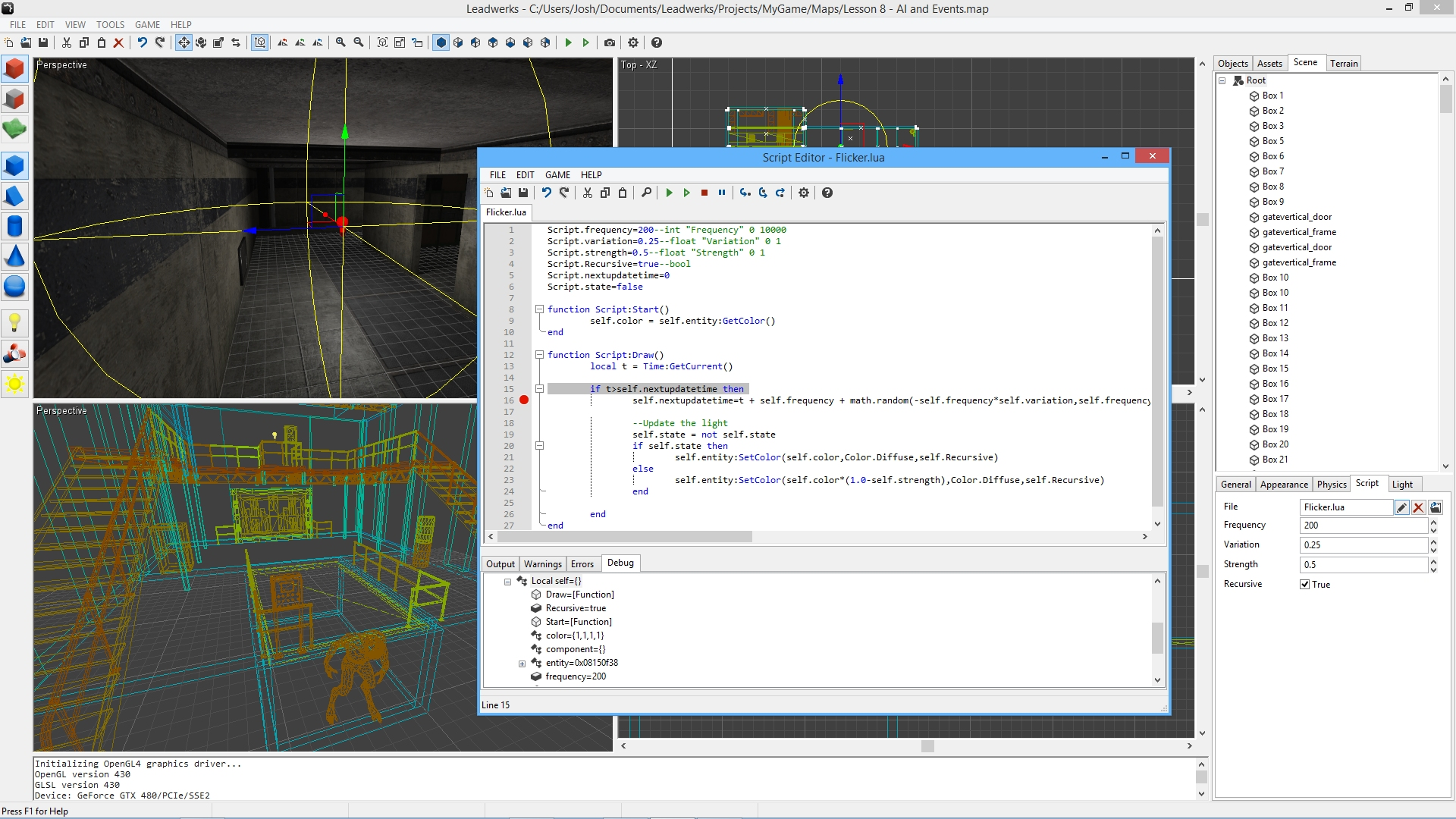 Leadwerks Game Engine screenshot