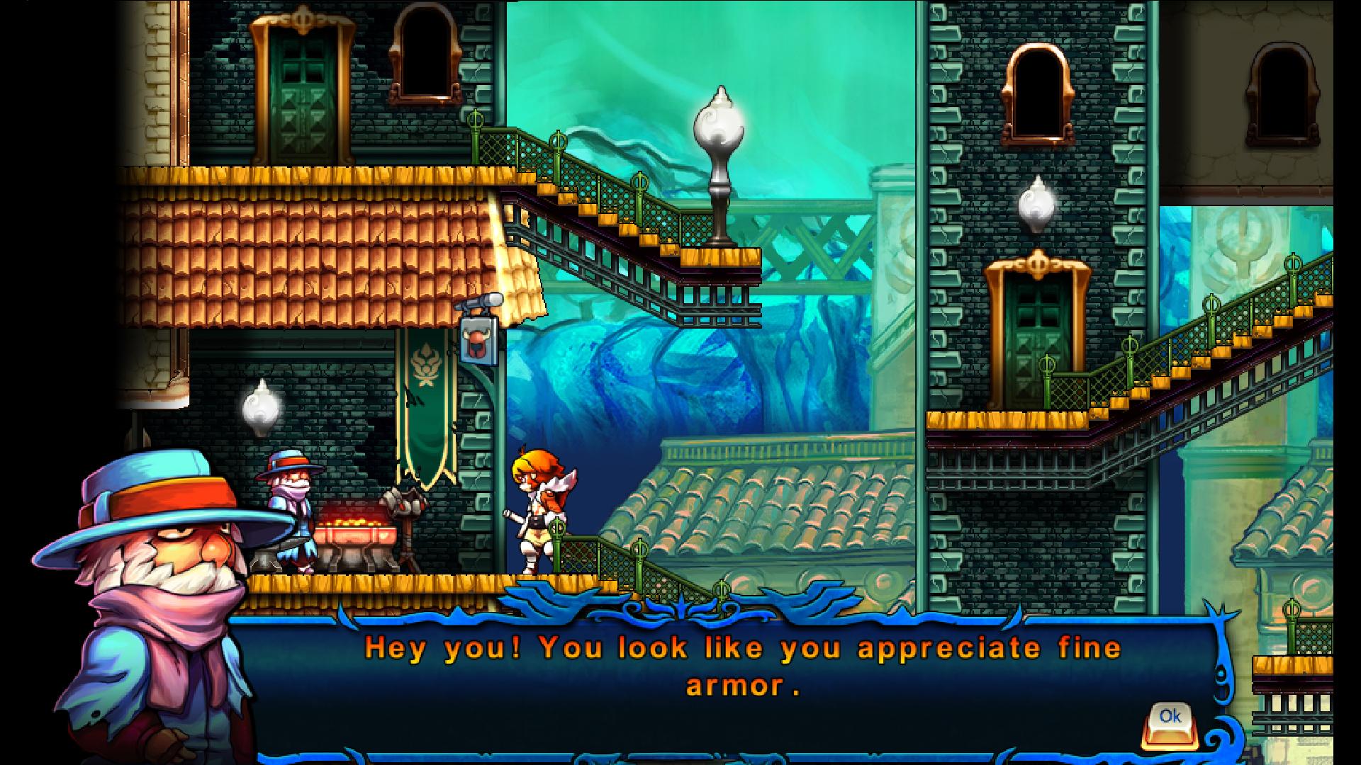 Valdis Story: Abyssal City screenshot 1