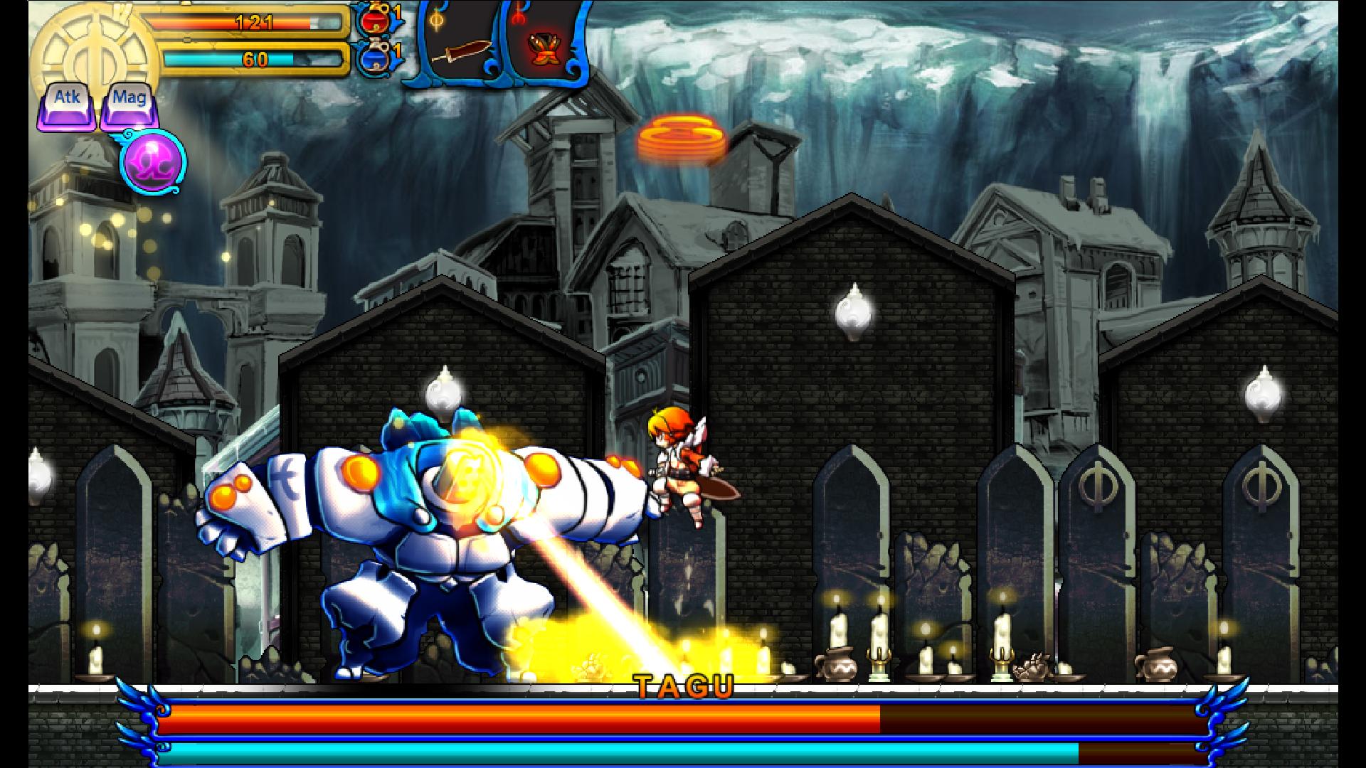 Valdis Story: Abyssal City screenshot 3