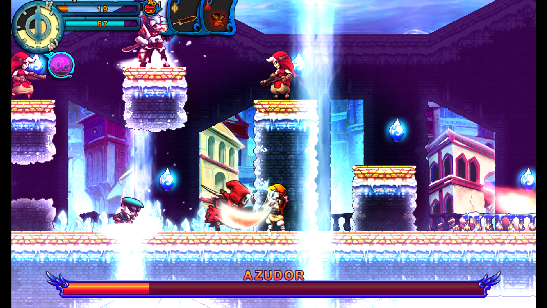 Valdis Story: Abyssal City screenshot 2