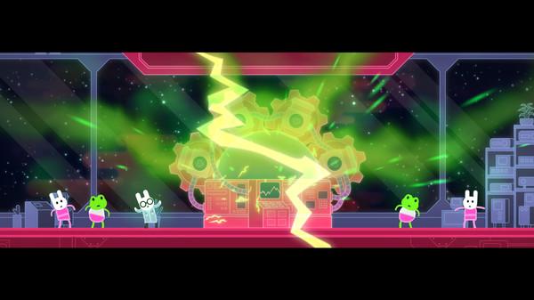 Lovers in Dangerous Spacetime - Game Screenshot