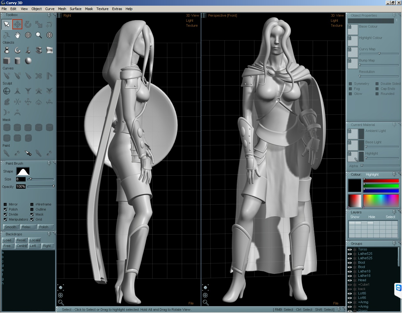 Aartform Curvy 3D 3.0 screenshot