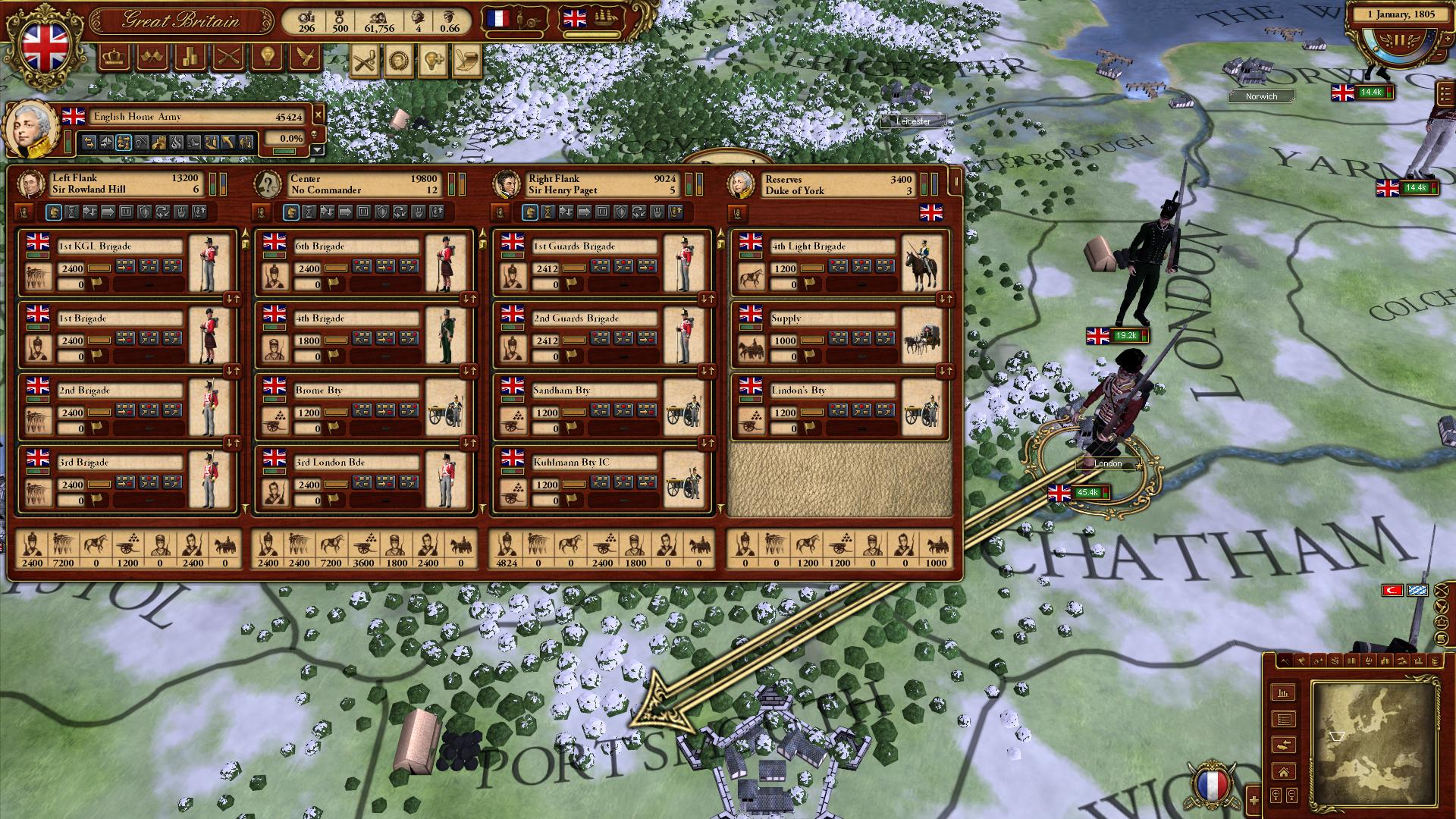 March of the Eagles: British Unit Pack screenshot