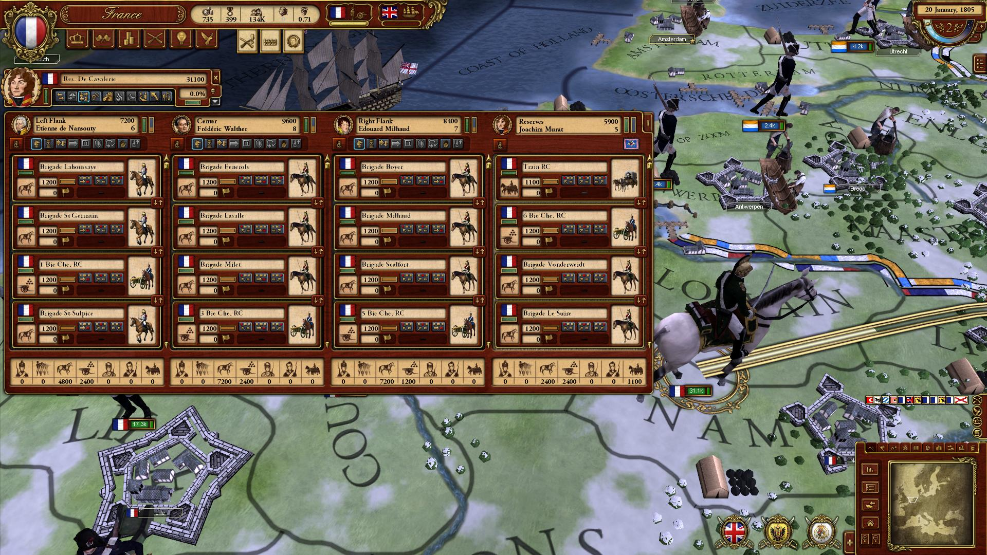 March of the Eagles: French Unit Pack screenshot