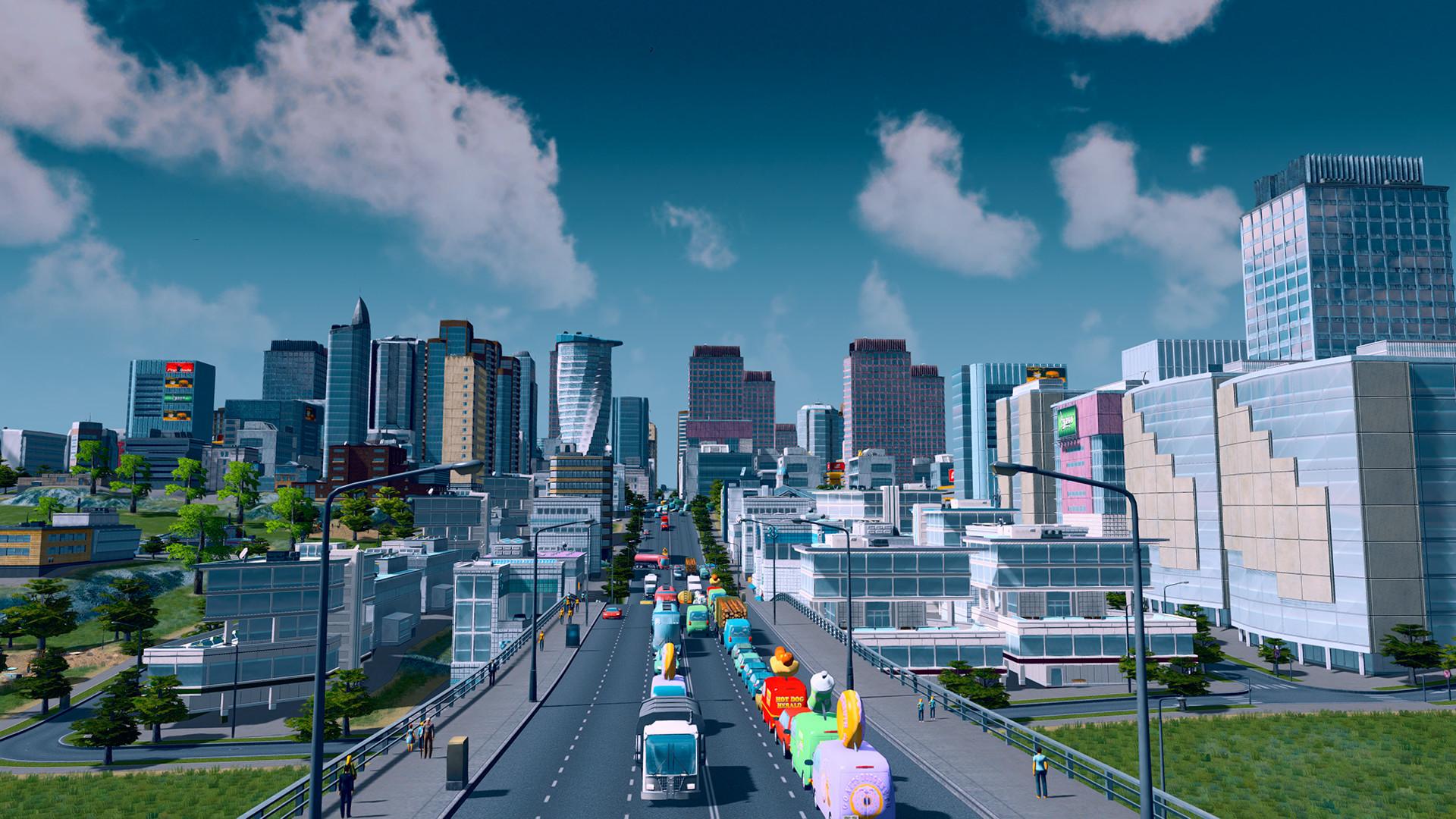 City skyline, Sukhumvit Road and Phloen Chit, with the Baiyoke ...