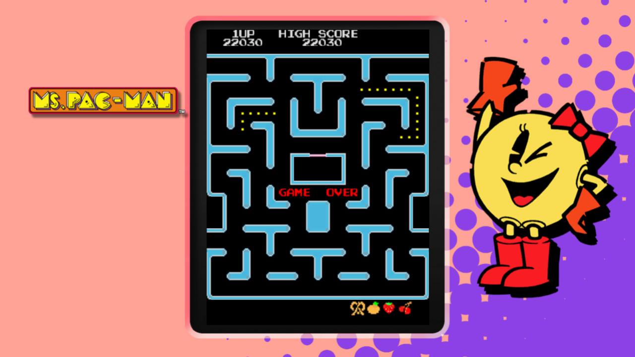 PAC-MAN MUSEUM - Ms. PAC-MAN DLC screenshot