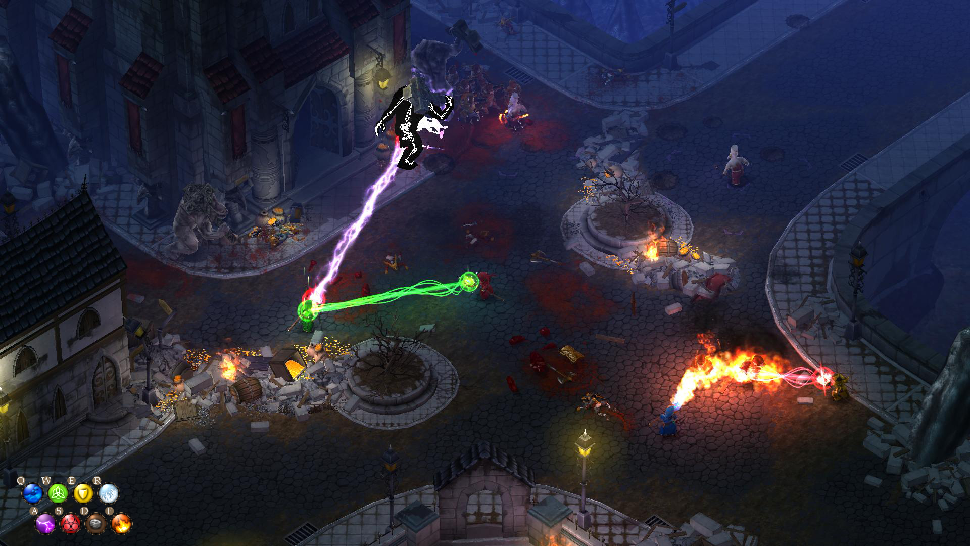 Magicka: Dungeons and Gargoyles screenshot