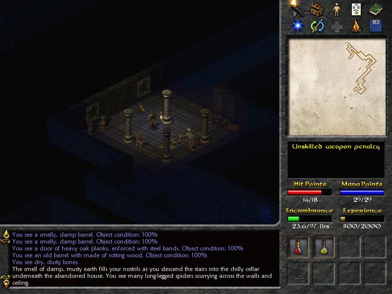 Eschalon: Book I screenshot