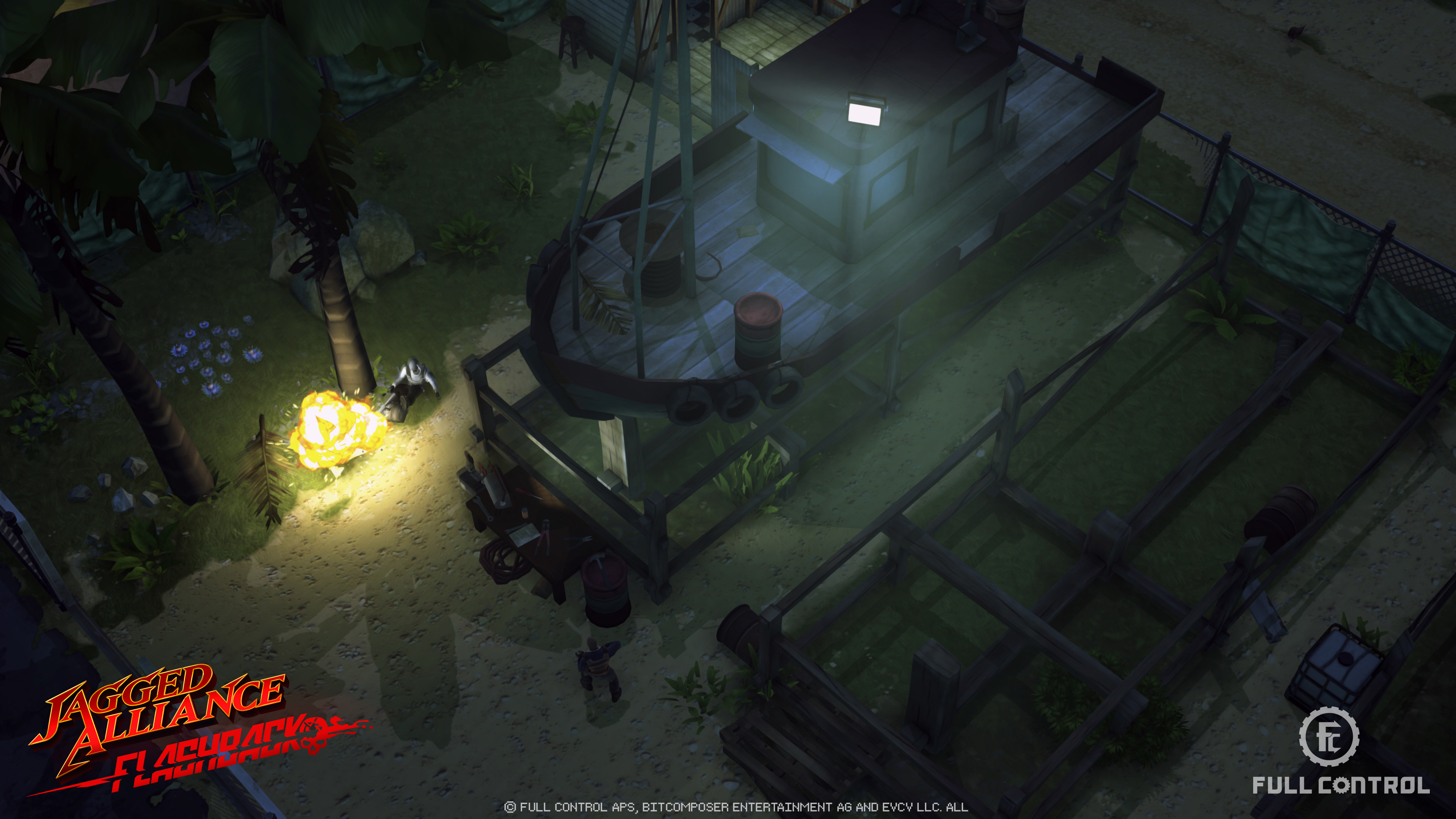 Jagged Alliance Flashback screenshot