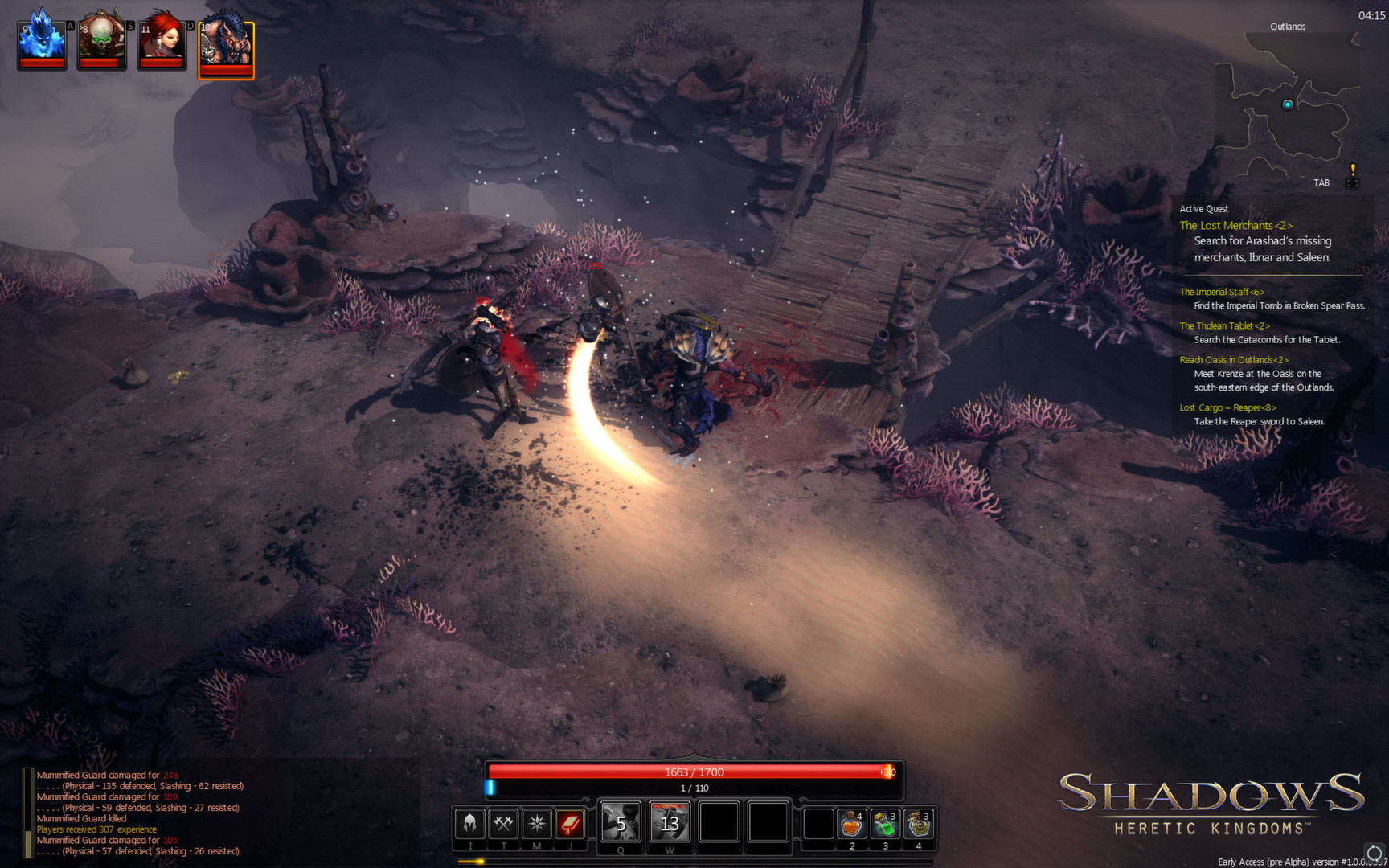 Shadows: Heretic Kingdoms screenshot 2