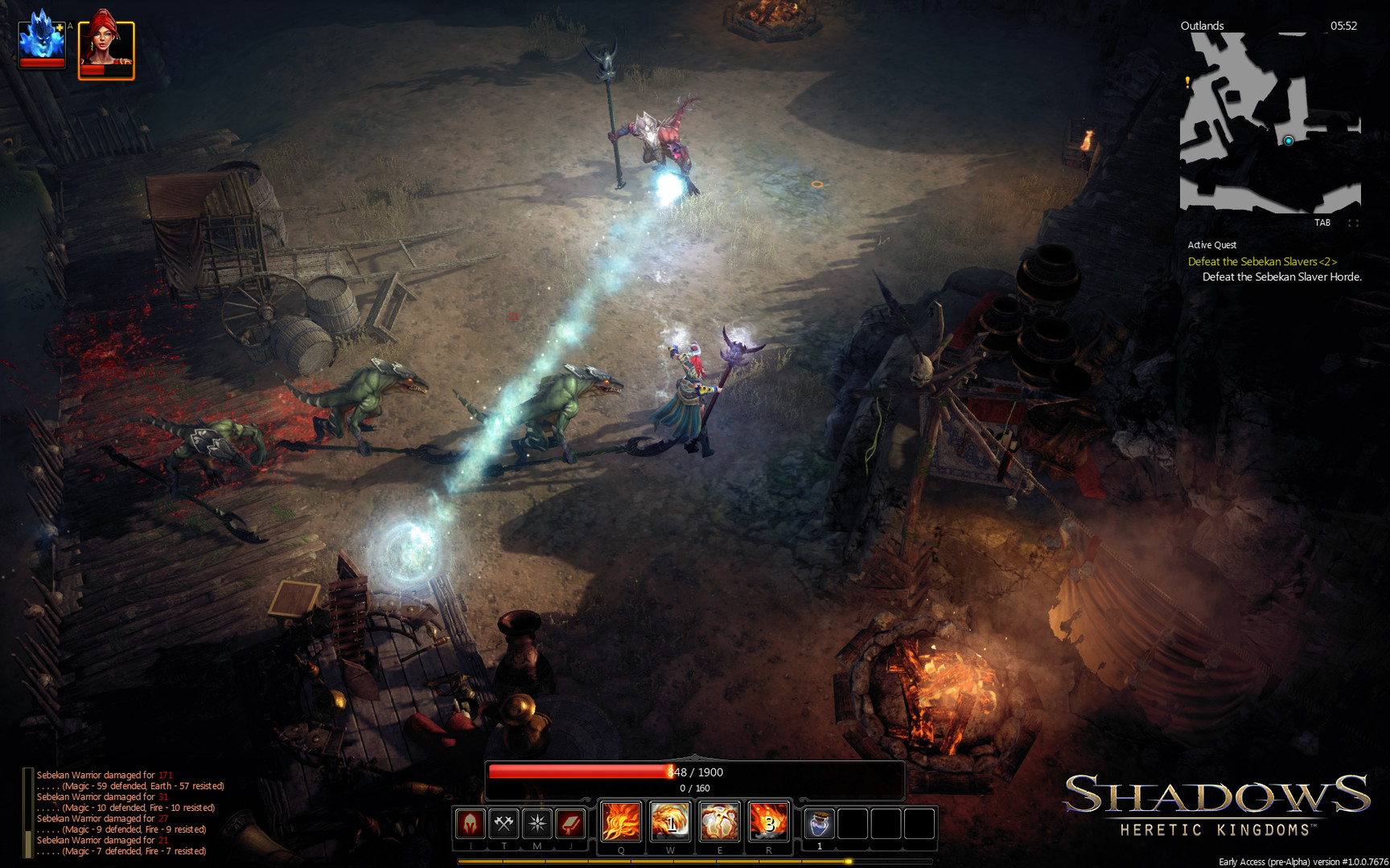Shadows: Heretic Kingdoms - Book One Devourer of Souls (2014) PC | Лицензия