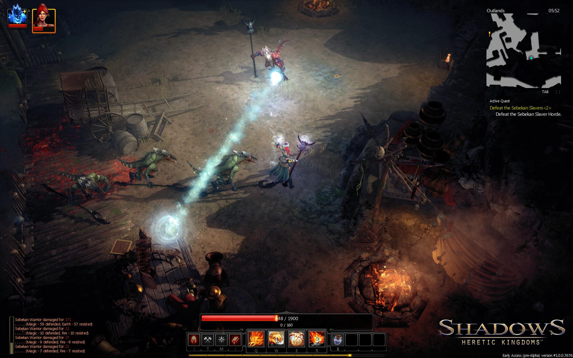 Shadows: Heretic Kingdoms screenshot