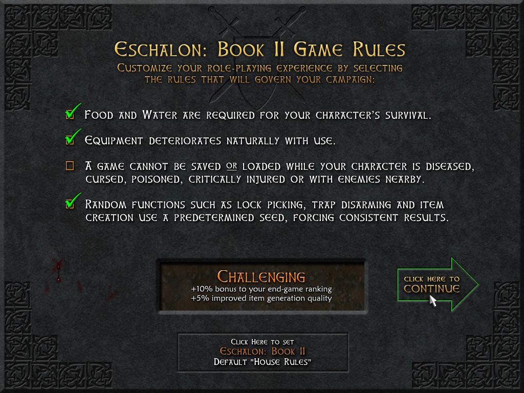 Eschalon: Book II screenshot