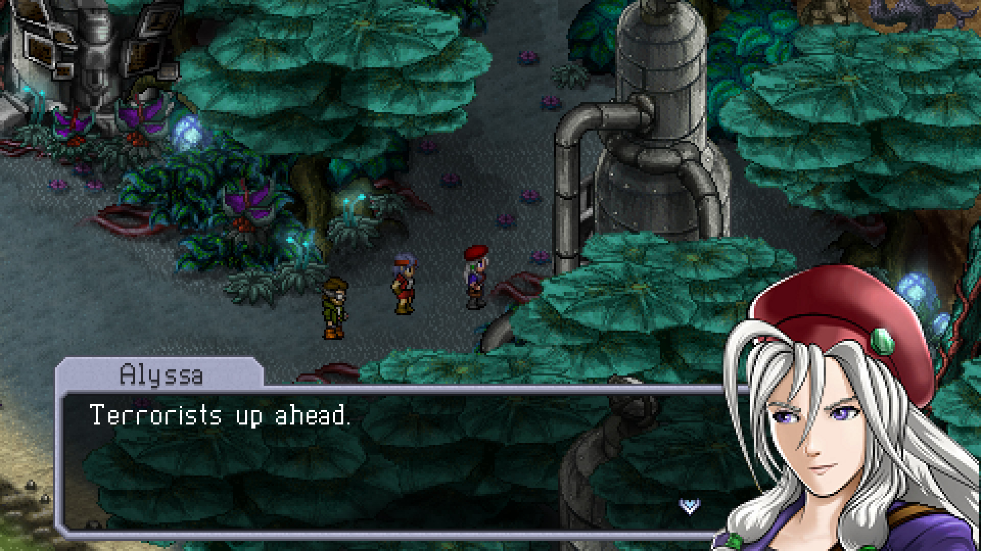 Cosmic Star Heroine Screenshot 2