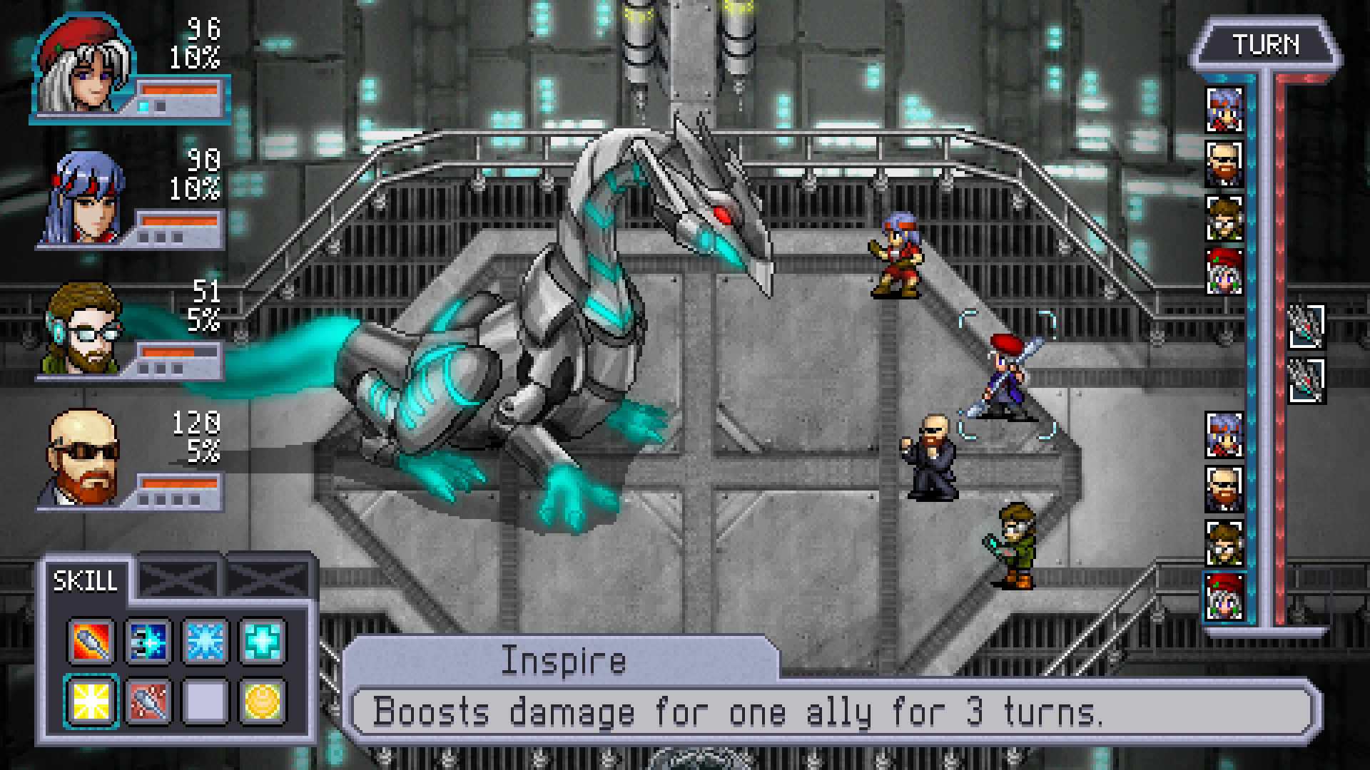 Cosmic Star Heroine screenshot