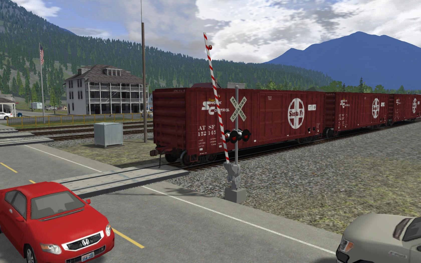 ATSF Wagon Pack 01 screenshot