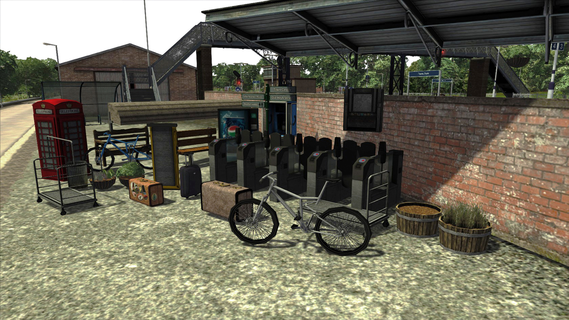 Platform Clutter Scenery Pack screenshot