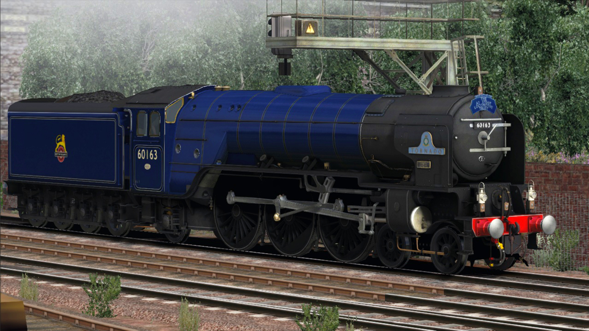 Class A1 'Tornado' Express Passenger Blue Add-on Livery screenshot