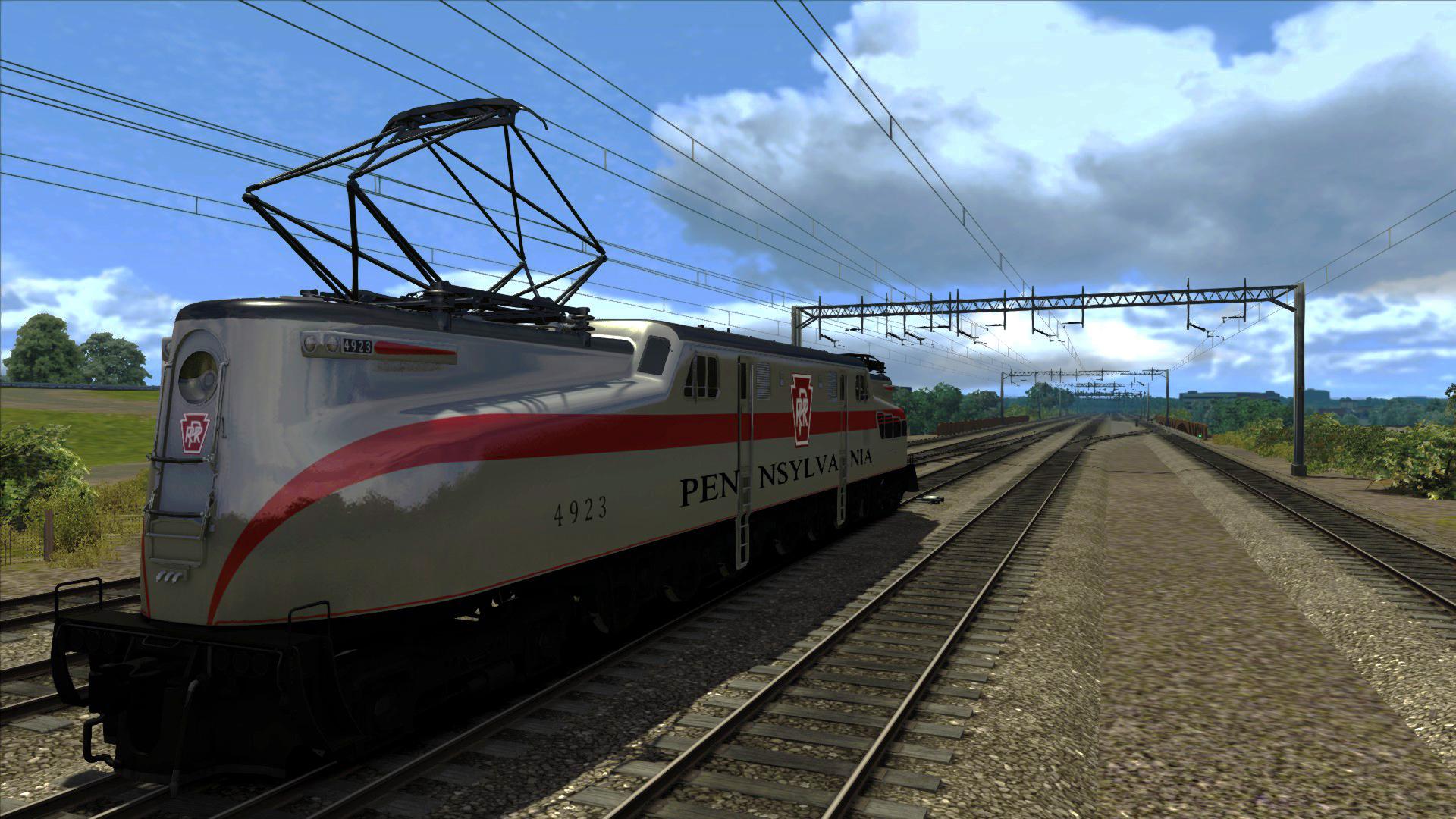 GG1 PRR Silver Add-on Livery screenshot