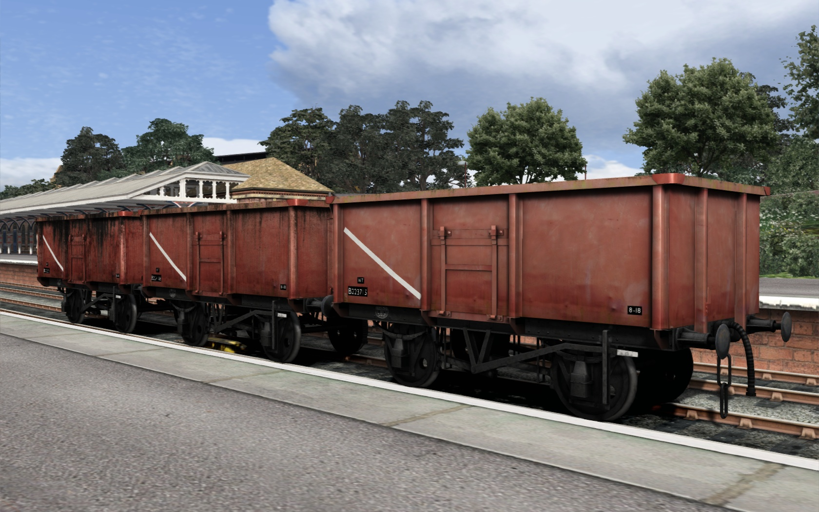 UK Coal Wagon Pack screenshot