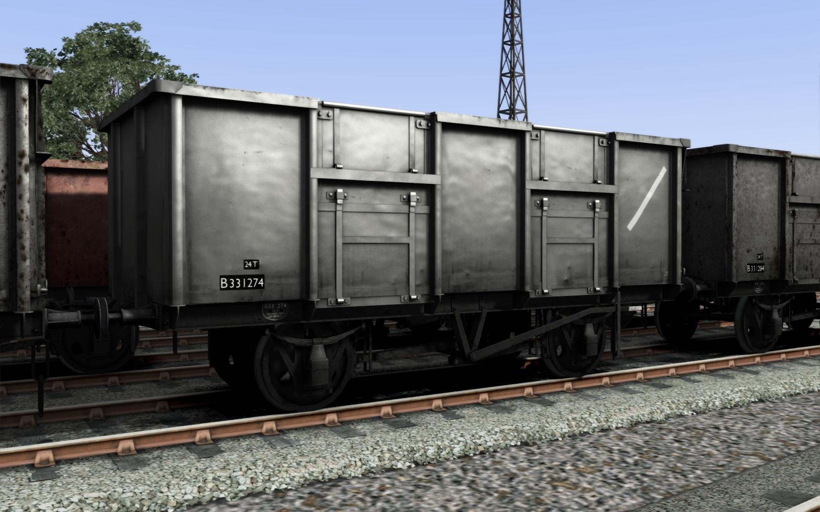 UK Mineral Wagon Pack screenshot