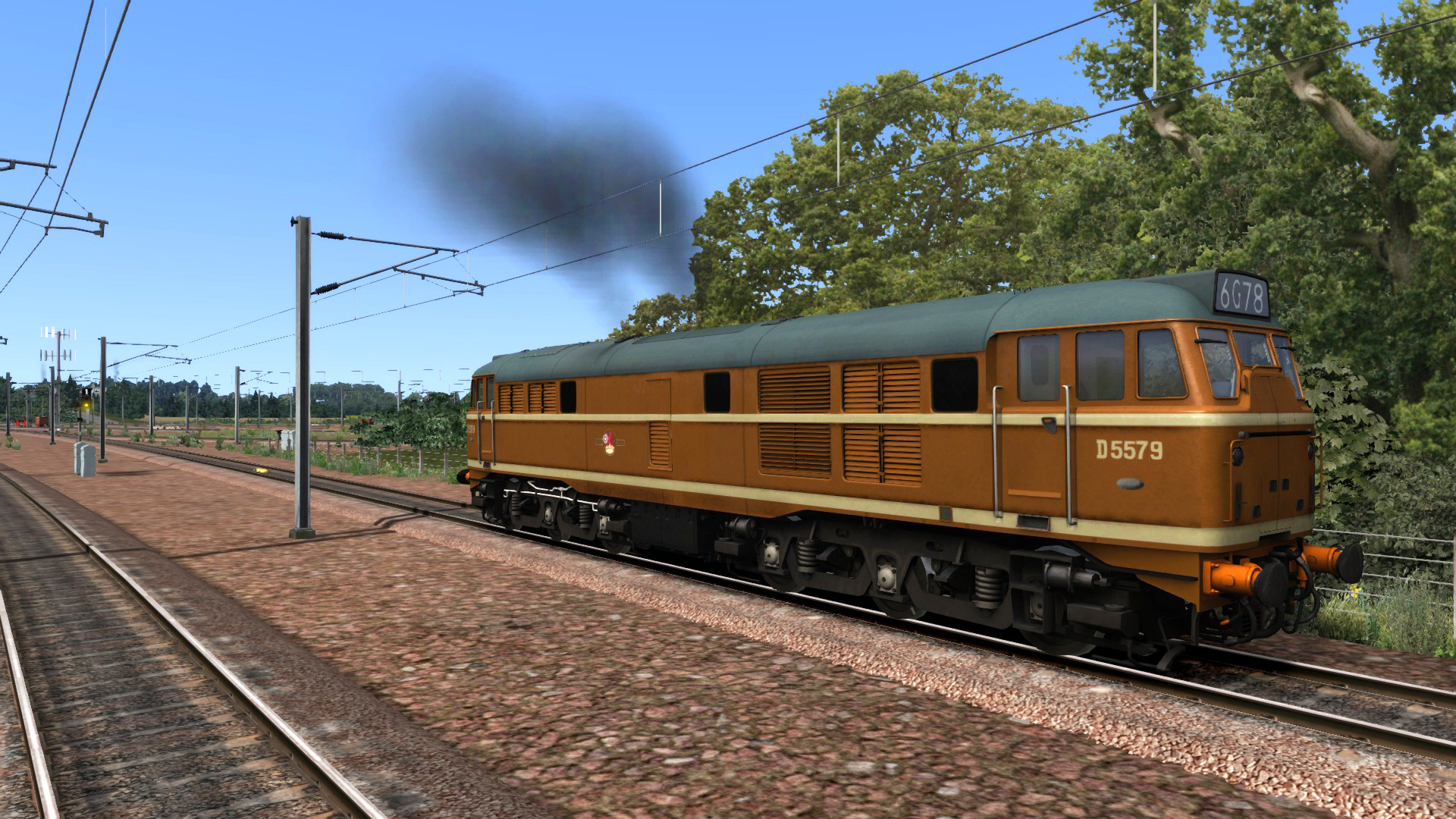 BR Class 31 Ochre Add-on Livery screenshot