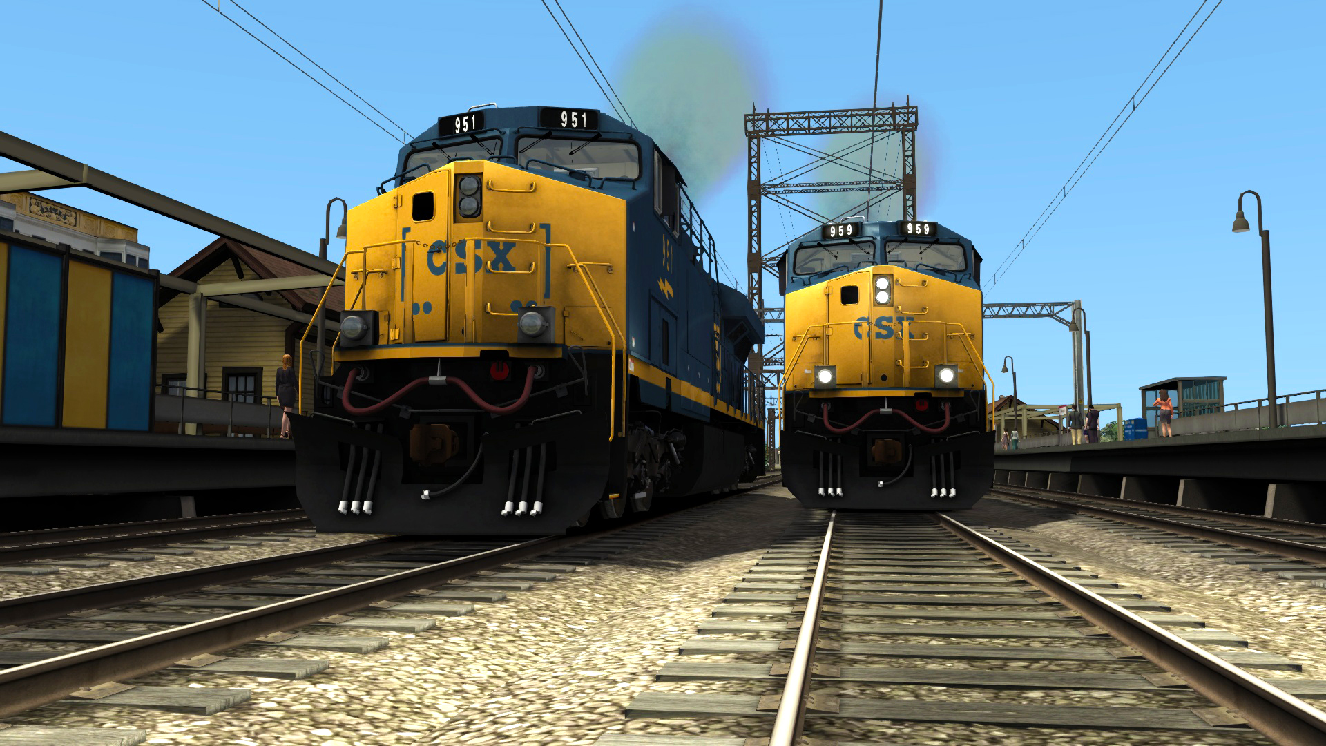 CSX ES44AC Add-on Livery screenshot