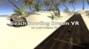 Beach Bowling Dream VR