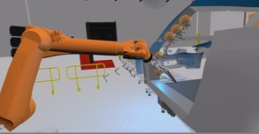 VR Robotics Simulator