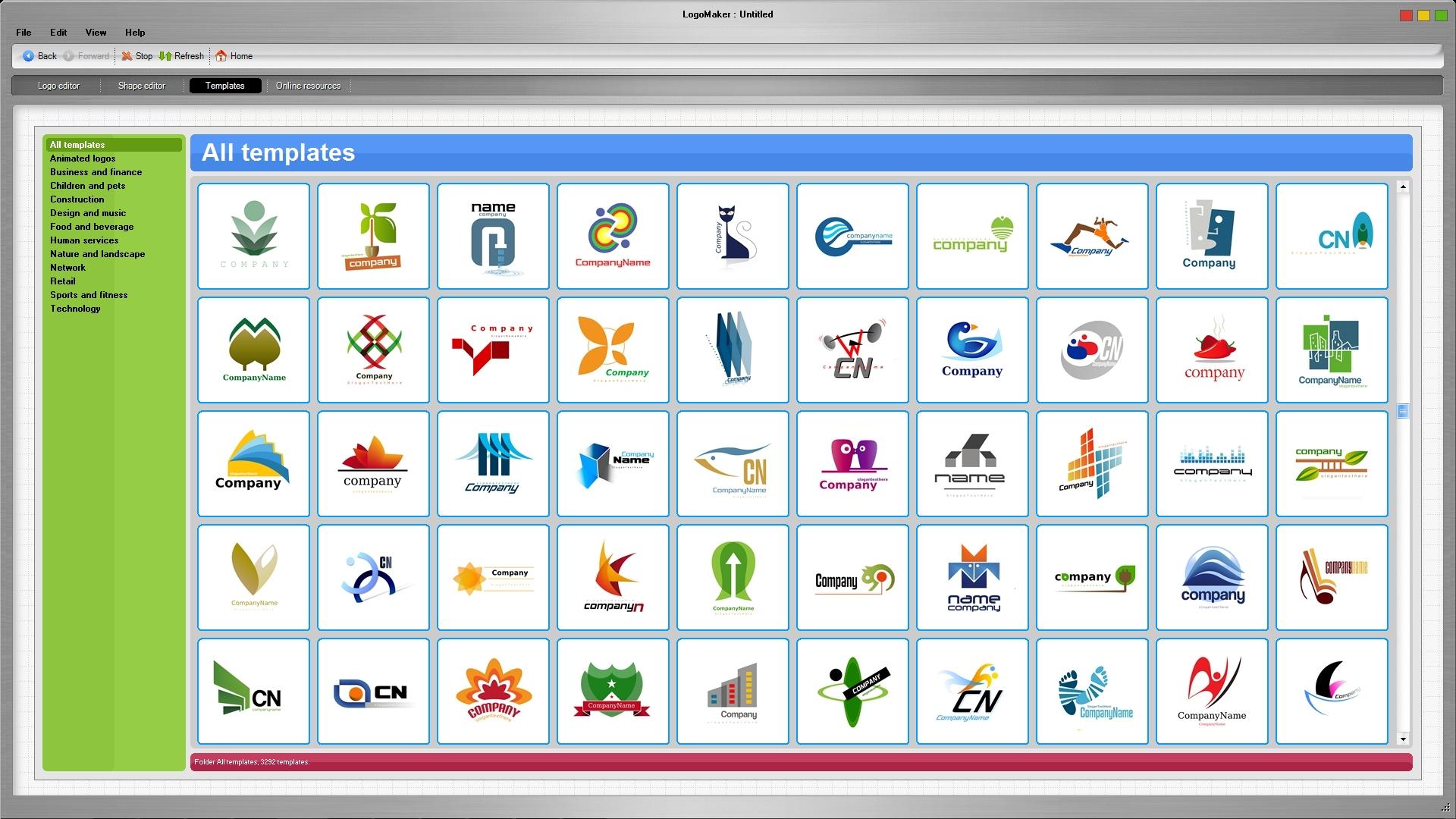LogoMaker 4 screenshot