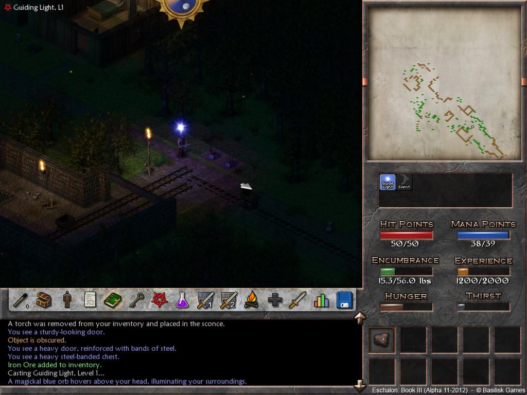 Eschalon Book III screenshot 3