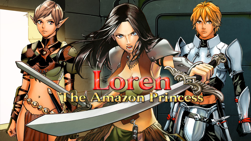 Loren The Amazon Princess screenshot