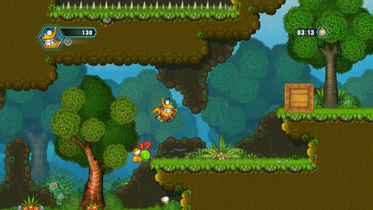 Oozi: Earth Adventure screenshot