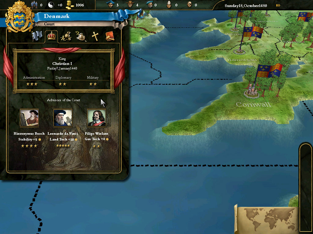 Europa Universalis III Complete screenshot