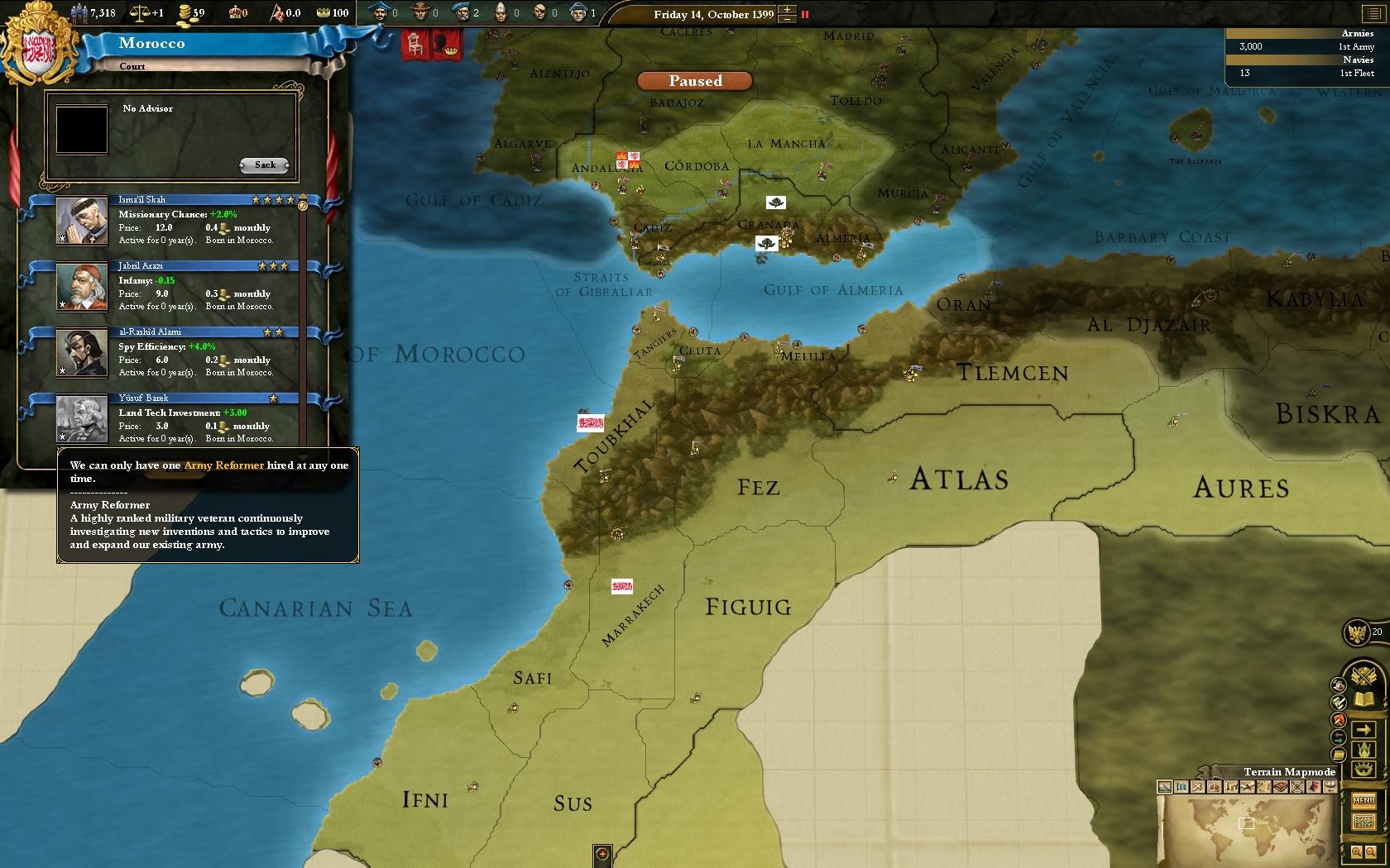 Europa Universalis III: Divine Wind screenshot