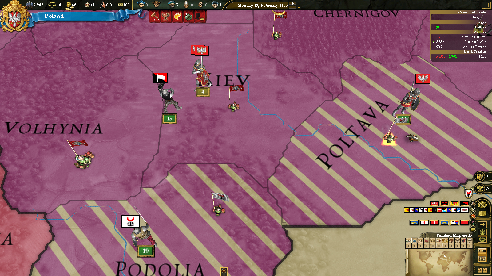 Europa Universalis III: Eastern - AD 1400 Spritepack screenshot